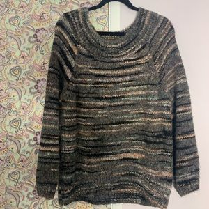 Express Balloon Sleeve, Off the Shoulder Sweater